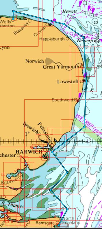 Sailing Round Britain Ramsgate To Wells Next The Sea